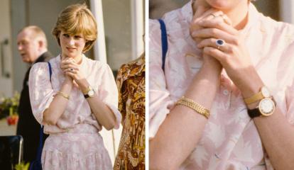 Kodėl princesė Diana ant riešo segėjo du laikrodžius?