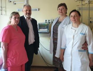 Už suaukotas lėšas Varėnos ligoninei jau nupirktas paciento gyvybinių funkcijų monitorius