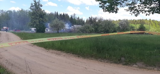 Mažeikių rajone rastas apdegęs kūnas – įtariamo pareigūno žudiko, nustatė ekspertai