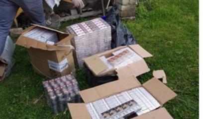 Skaudvilės miestelyje pas moterį namie rasta kontrabandinių cigarečių