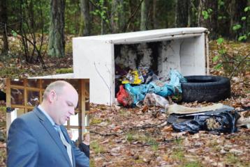 Metalo surinkėjų įžūlumui ribų nėra: padangas ir laidus degina miške