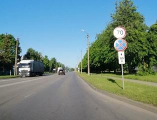 Gamyklų gatvėje – didesnis leistinas greitis