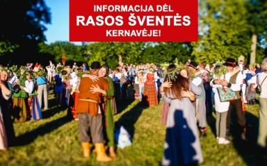 Šiemet Rasos šventė Kernavėje nebus organizuojama