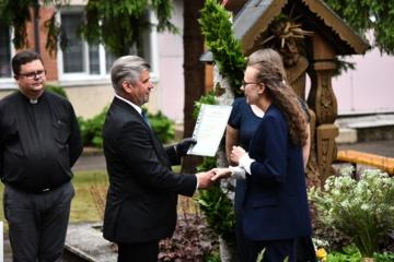M. Rimkevičaitės profesinio rengimo centro absolventų diplomų teikimo ceremonija kitokia – karantino padiktuota