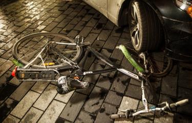 Sužalotas dviračiu važiavęs vaikas