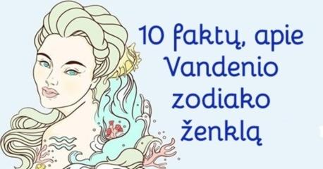 Koks yra Vandenis? 10 faktų, kurie padės suprasti šio ženklo žmones