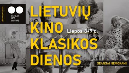 Lietuvių kino klasikos dienose – nemokamos filmų peržiūros