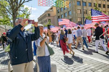 Šeštadienį sostinėje – JAV Nepriklausomybės dienai skirtas paradas