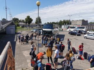 Fotoreportažas: Šiaulių mokyklų deimantai atostogauja kartu (I diena)