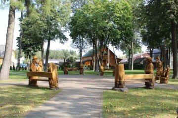 Kazlų Rūda nuo šiol turės miesto atsiradimo legendą, ji įprasminta miesto parke