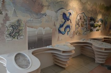 Didžiosios Nemuno kilpos ir jų vertybės – naujoje Lankytojų centro ekspozicijoje