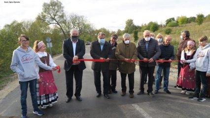 Baigtas remontuoti Bubių seniūnijos Gervėnų kelias