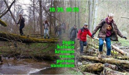 Alytiškius kviečia žygis pėsčiomis: keliausime kalnais, krūmais, revais, purvais, vandenais