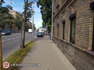 Sostinės policija ieško eismo įvykio liudininkų