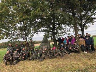 Žygis Jiezno seniūnijos partizanų takais