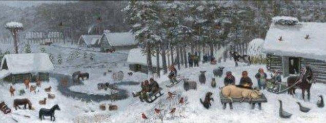 Primityviosios tapybos konkurso I premijos laureatas – Širvintų rajone gyvenantis R. Šalaševičius