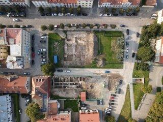 Šv. Jono bažnyčios vietos Klaipėdoje archeologiniai tyrimai truks dar porą metų