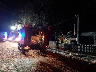 Šiaudinės kaime sudegė namas: jauna šeima liko be prieglobsčio