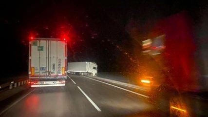 Po avarijos iš dalies atnaujintas eismas kelyje Kaunas-Marijampolė-Suvalkai