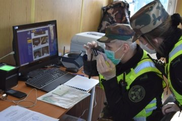 Šalčininkų kontrolės punkte sulaikytas suklastotą vairuotojo pažymėjimą pateikęs baltarusis