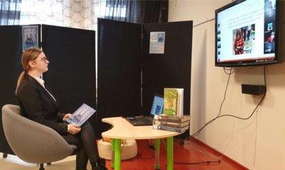 Trakų bibliotekoje – virtualus susitikimas su rašytoja kraštiete Neringa Vaitkute