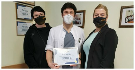 """Šiaulių Rotary klubas """"Harmonija"""" surinko 5000 eurų paramą onkologiniams ligoniams"""
