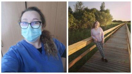 Dėl pandemijos darbo netekusi alytiškė pasinėrė į savanorystę ligoninėje