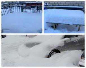 Lietuva susidūrė su istorine žiema: snygis nerimsta, o sniego paklotė jau pridarė nemažai žalos (Nuotraukų galerija)