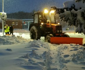 Širvintų rajone užfiksuota 38 cm storio sniego danga