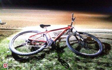 Vilniaus rajone žuvo dviračiu važiavęs žmogus