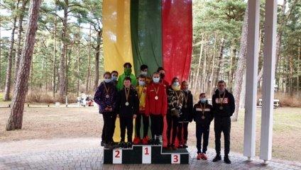 Marijampoliečiai dalyvavo Lietuvos kroso taurės I etape Palangoje