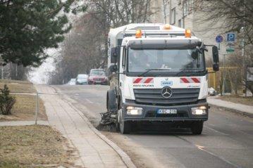 Vilnius švarinasi – gatves ir šaligatvius ketina išvalyti iki balandžio vidurio