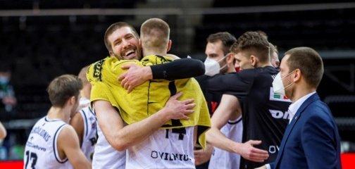 """LKL: """"Ryto"""" pergalę Kaune prieš """"Žalgirį"""" nulėmė taikli D.Bičkauskio bauda"""