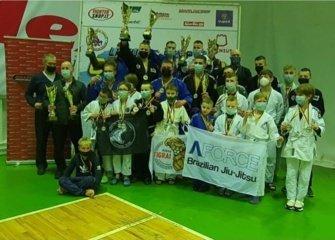 Jonaviečio imtynininko M. Bimbos kolekciją papildė nauji medaliai