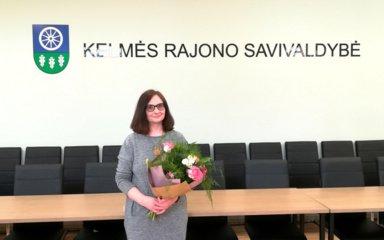 Nijolė Kančauskienė –  2020 metų Kelmės kultūros darbuotojo premijos laureatė