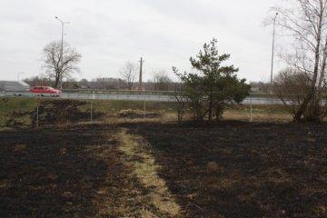 Abromiškiečius vėl gąsdino ugnis