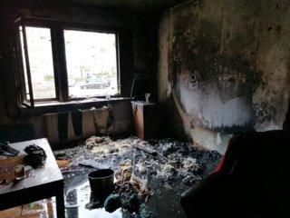 Ugniagesiams pavyko gaisre išgelbėti vyro ir moters gyvybę