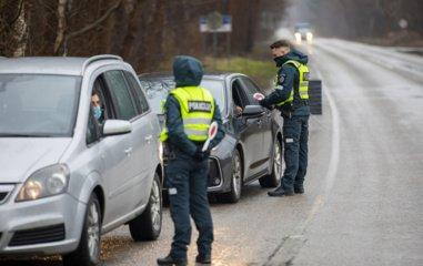 Policija praneša, kokius reidus rengs gegužę