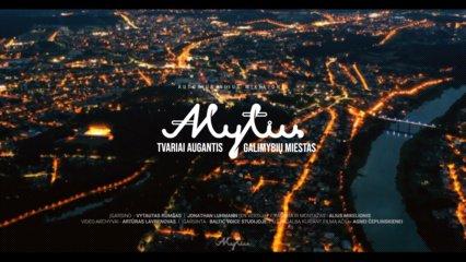 Išleistas naujas Alytų pristatantis filmas (vaizdo įrašas)