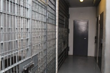 Klaipėdoje suimtasis paskelbė bado streiką