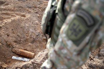 Biržų rajone rastas sprogmuo