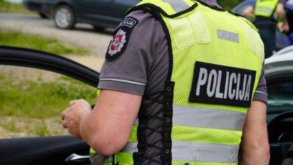 Vilniaus rajone sulaikytas neblaivus vairuotojas pasipriešino pareigūnams