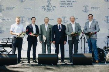 Vilkaviškio rajono verslininkas įvertintas vienu aukščiausių Lietuvos prekybos, pramonės ir amatų rūmų apdovanojimu