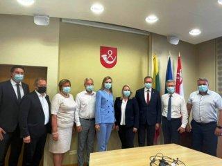 Pagėgių savivaldybėje lankėsi Vidaus reikalų ministrė Agnė Bilotaitė