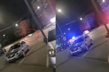 Skuodė kaip įmanydamas: girtą BMW vairuotoją policija gaudė po visą Kauną