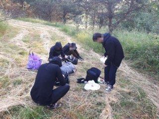 Zarasų rajone sulaikyti dar keturi migrantai