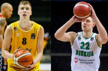 """Į """"Šiaulių"""" krepšinio klubą grįžta D.Sabeckis, atvyksta G.Staniulis"""