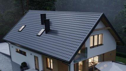 Plieniniai stogai ir senų stogų renovacija