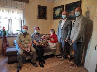100-metį pasitikusi Onutė niekuomet nesiskundė gyvenimu