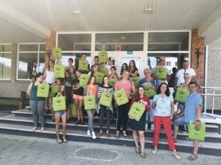 Veisiejuose jaunimas sėmėsi verslumo pamokų